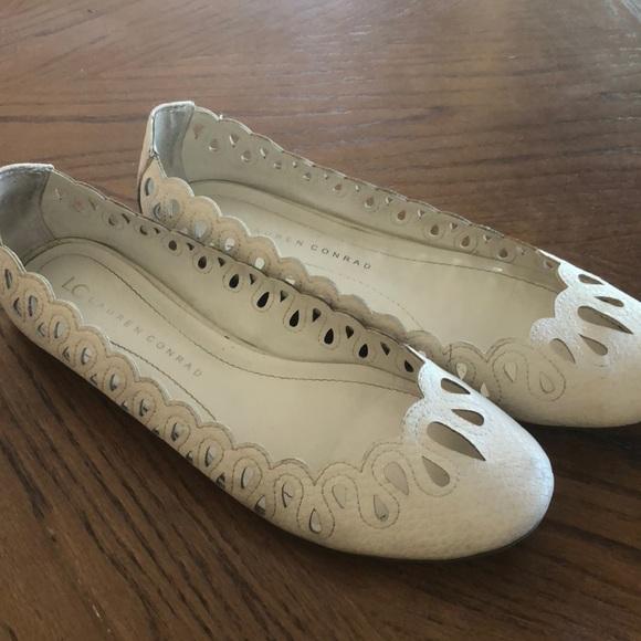 4e78cd865 LC Lauren Conrad Shoes - LC Lauren Conrad cream colored women's flats